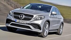 Mercedes kommer med verdens sterkeste SUV-coupé