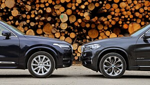 Volvo XC90 eller BMW X5?