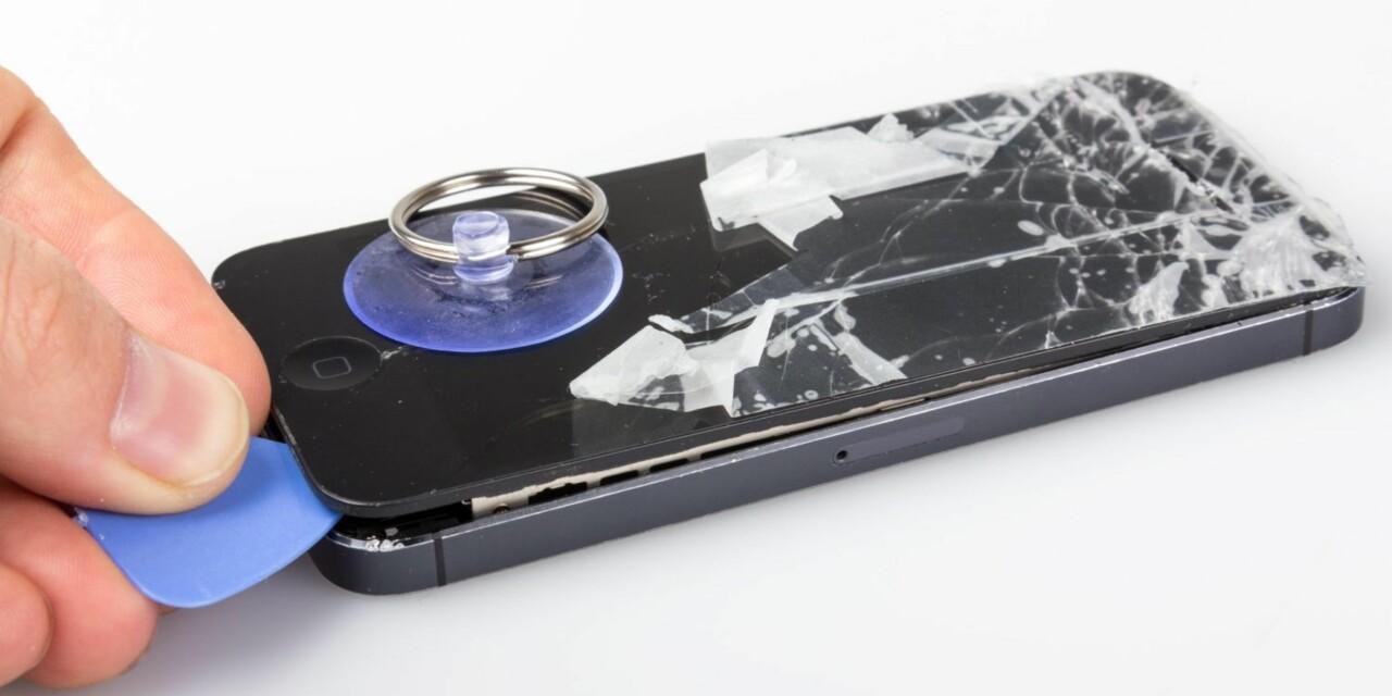 Skifte skjerm iphone 5s
