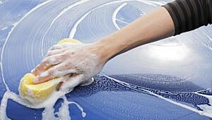 Slik vasker du bilen