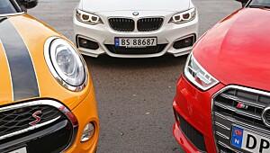Små biler, masse moro