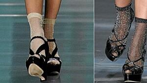 Nå skal du bruke sokker i sandalene