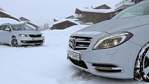 Spreke vinterbiler med 4WD