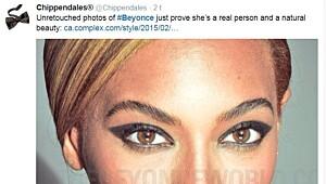 Uretusjert Beyoncé tar av i sosiale medier