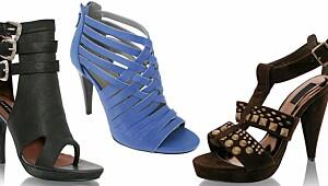 30 høyhælte sandaler