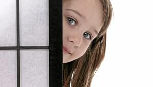 Tatt på fersken av barna