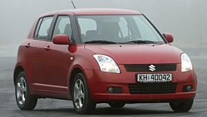 Suzuki Swift liten og kjapp