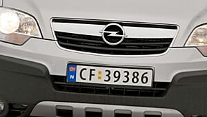 Opel - blinkskudd med Antara?