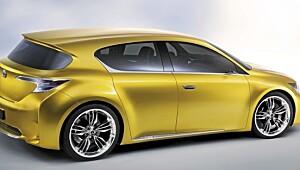 Lexus LF-Ch er tøff, kompakt og hybrid