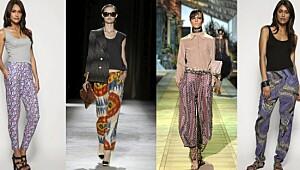 Slik kler du deg i mønstrete bukser