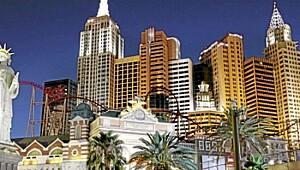 Las Vegas tørker ut