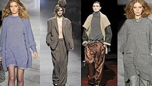 Trendy med for store klær