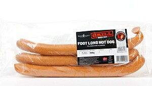 Nordfjord Foot Long Hot Dog
