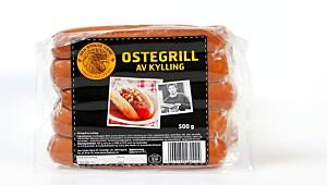 Den Stolte Hane Ostegrill av Kylling