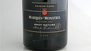 Marqués de Monistrol Premier Cuvée Brut Nature 2007
