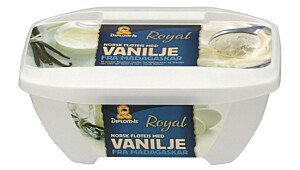 Diplomis Royal Fløteis med vanilje fra Madagaskar