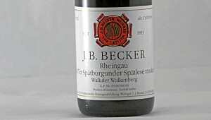B. Becker Spätburgunder Spätlese Trocken 2007