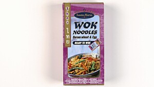 Santa Maria Wok Noodles durum wheat & egg (ready to wok)