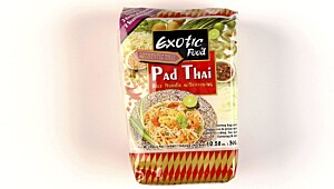 Exotic Food Pad Thai Rice Noodle w/Seasoning