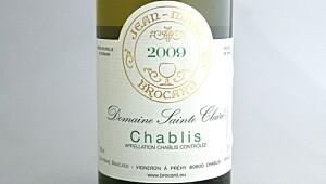 Brocard Chablis Sainte Claire 2009