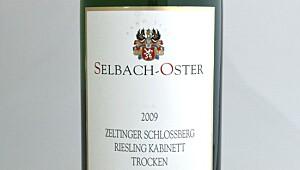 Selbach-Oster Zeltinger Sonnenuhr Riesling Kabinett Trocken 2009