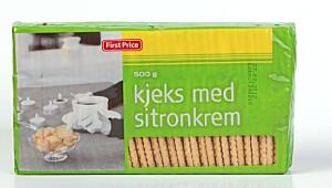 FirstPrice Kjeks med sitronkrem