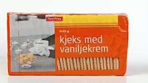 FirstPrice Kjeks med vaniljekrem