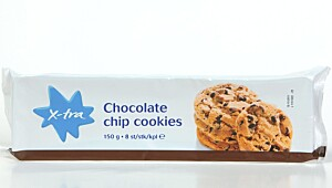 X-tra Chocolate Chip Cookies