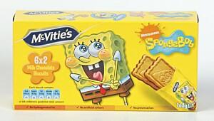 McVitie's Spongebob