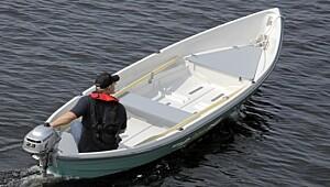 En fin robåt