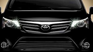 Blir Toyota Avensis bedre å kjøre?