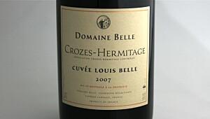 Crozes-Hermitage Cuvée Louis Belle 2007