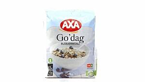 Axa Go´dag blåbærmüsli