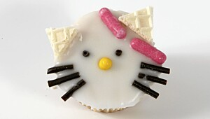 Hello Kitty-muffins