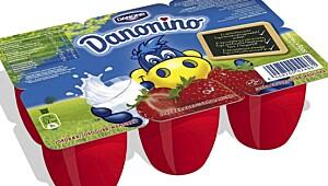 Danonino jordbær, Danone