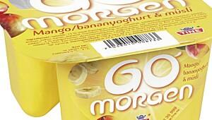 God Morgen med mango/banan og mysli, Tine