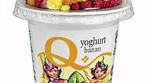 Q yoghurt med banan og mysli, Q-meieriene