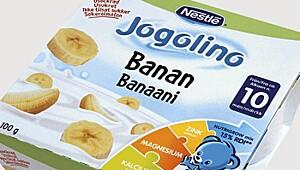 Jogolino med banan, Nestlé