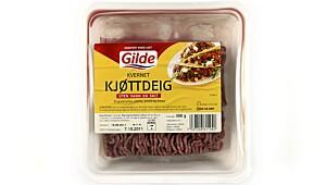 Gilde Kvernet Kjøttdeig Uten Vann og Salt