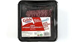 Gilde 100% Kvernet Storfekjøtt Kjøttdeig