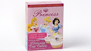 Disney Princess Glittering Cup Cakes