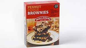 Møllerens Peanut Fudge Brownies