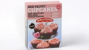 Møllerens Red Velvet Cupcakes
