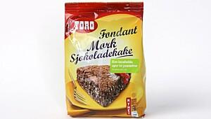 Toro Fondant Mørk Sjokoladekake