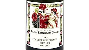 Bassermann-Jordan Forster Ungheuer Ziegler Riesling Trocken 2013