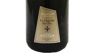 Claude Cazals La Chapelle du Clos Grand Cru Blanc de Blancs Brut