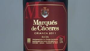 Marqués de Cáceres Crianza 2011