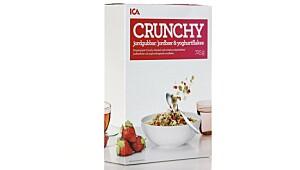 ICA Crunchy jordbær & yoghurtflakes