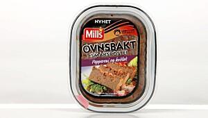 Mills Ovnsbakt smakspostei Pepperoni og hvitløk