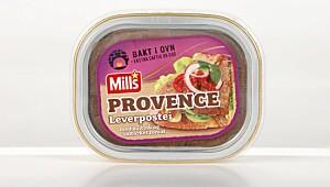 Mills Provence Leverpostei med hvitløk og soltørket tomat